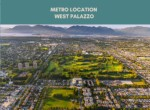 West Palazzo metro location