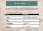 West Palazzo project details